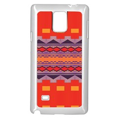 Rhombus rectangles and trianglesSamsung Galaxy Note 4 Case (White)