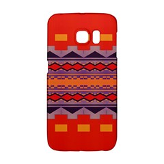 Rhombus Rectangles And Trianglessamsung Galaxy S6 Edge Hardshell Case