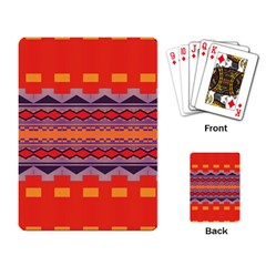 Rhombus rectangles and triangles			Playing Cards Single Design