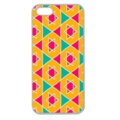 Colorful stars pattern			Apple Seamless iPhone 5 Case (Clear)
