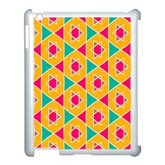 Colorful stars pattern			Apple iPad 3/4 Case (White)