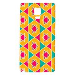 Colorful stars pattern			Samsung Note 4 Hardshell Back Case