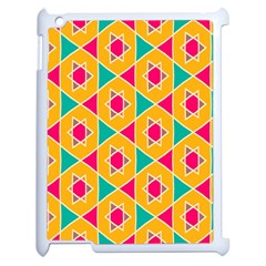 Colorful stars pattern			Apple iPad 2 Case (White)