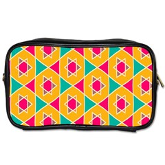 Colorful stars patternToiletries Bag (One Side)