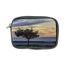 Sunset Scene at Boardwalk in Montevideo Uruguay Coin Purse