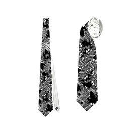 Luxury Patterned Modern Baroque Neckties (Two Side)