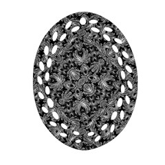 Luxury Patterned Modern Baroque Ornament (oval Filigree)