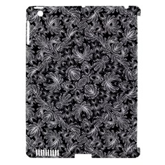 Luxury Patterned Modern Baroque Apple iPad 3/4 Hardshell Case (Compatible with Smart Cover)