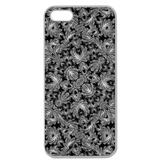 Luxury Patterned Modern Baroque Apple Seamless iPhone 5 Case (Clear)