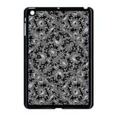 Luxury Patterned Modern Baroque Apple iPad Mini Case (Black)