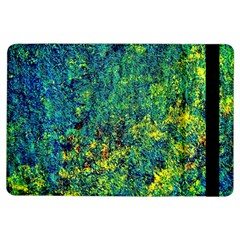 Flowers Abstract Yellow Green Ipad Air Flip