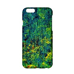 Flowers Abstract Yellow Green Apple iPhone 6/6S Hardshell Case