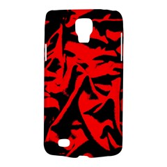 Red Black Retro Pattern Galaxy S4 Active