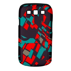 Red blue pieces			Samsung Galaxy S III Classic Hardshell Case (PC+Silicone)