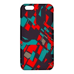 Red blue pieces			iPhone 6/6S TPU Case