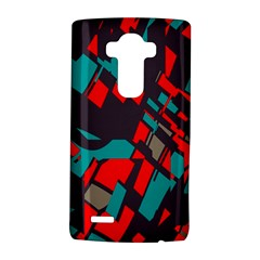 Red Blue Pieces			lg G4 Hardshell Case