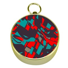 Red Blue Pieces			gold Compass