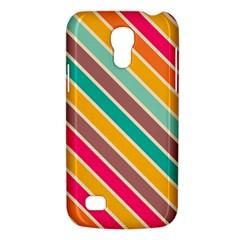 Colorful diagonal stripesSamsung Galaxy S4 Mini (GT-I9190) Hardshell Case