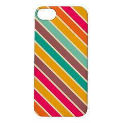 Colorful diagonal stripes			Apple iPhone 5S Hardshell Case