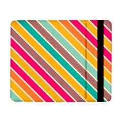Colorful diagonal stripesSamsung Galaxy Tab Pro 8.4  Flip Case