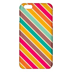 Colorful diagonal stripes			iPhone 6 Plus/6S Plus TPU Case