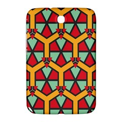 Honeycombs triangles and other shapes pattern			Samsung Galaxy Note 8.0 N5100 Hardshell Case