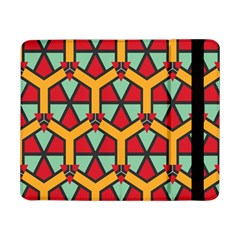 Honeycombs triangles and other shapes patternSamsung Galaxy Tab Pro 8.4  Flip Case