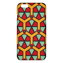 Honeycombs triangles and other shapes pattern			iPhone 6 Plus/6S Plus TPU Case