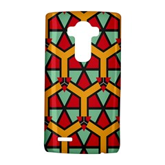 Honeycombs Triangles And Other Shapes Pattern			lg G4 Hardshell Case