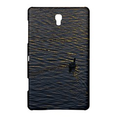 Lonely Duck Swimming At Lake At Sunset Time Samsung Galaxy Tab S (8.4 ) Hardshell Case