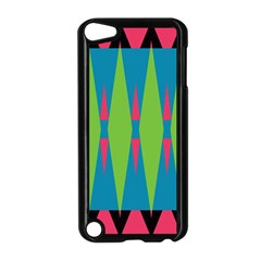 Connected rhombusApple iPod Touch 5 Case (Black)