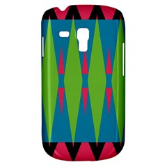 Connected Rhombus			samsung Galaxy S3 Mini I8190 Hardshell Case