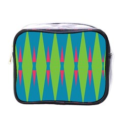 Connected rhombus			Mini Toiletries Bag (One Side)