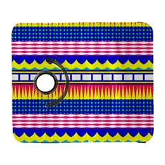 Rectangles waves and circlesSamsung Galaxy S III Flip 360 Case