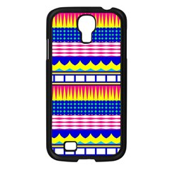 Rectangles waves and circlesSamsung Galaxy S4 I9500/ I9505 Case (Black)
