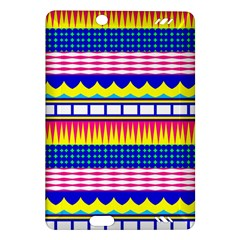 Rectangles waves and circlesKindle Fire HD (2013) Hardshell Case