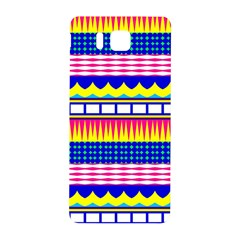 Rectangles waves and circlesSamsung Galaxy Alpha Hardshell Back Case