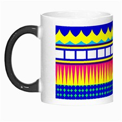 Rectangles waves and circles Morph Mug