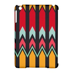 Waves and other shapes patternApple iPad Mini Hardshell Case (Compatible with Smart Cover)