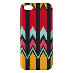 Waves and other shapes pattern			Apple iPhone 5 Premium Hardshell Case