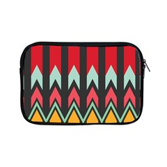 Waves and other shapes patternApple iPad Mini Zipper Case