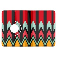 Waves And Other Shapes Patternkindle Fire Hdx Flip 360 Case