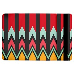 Waves And Other Shapes Patternapple Ipad Air Flip Case