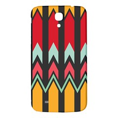 Waves and other shapes pattern			Samsung Galaxy Mega I9200 Hardshell Back Case