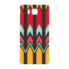 Waves And Other Shapes Patternsamsung Galaxy Alpha Hardshell Back Case