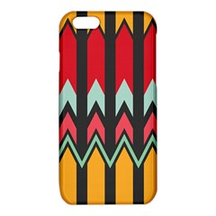 Waves and other shapes patterniPhone 6/6S TPU Case