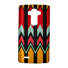 Waves and other shapes patternLG G4 Hardshell Case