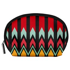 Waves and other shapes pattern Accessory Pouch