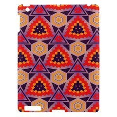 Triangles honeycombs and other shapes pattern			Apple iPad 3/4 Hardshell Case