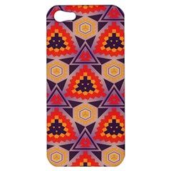 Triangles honeycombs and other shapes pattern			Apple iPhone 5 Hardshell Case